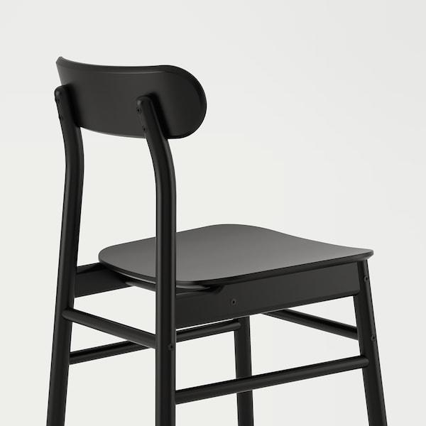 RÖNNINGE Chair, black