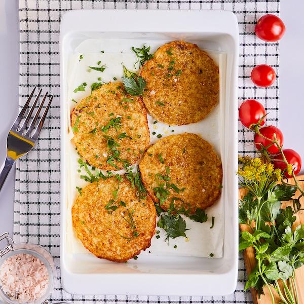 RÖSTI Potato fritters, frozen, gluten-free