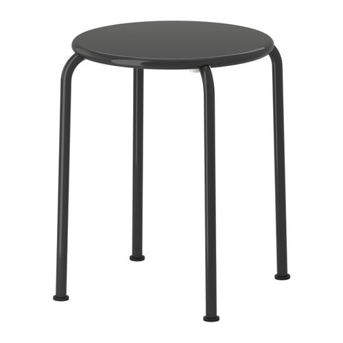 ROXÖ Stool IKEA The materials in this outdoor furniture require no maintenance.  Easy to keep clean; simply wipe with a damp cloth.