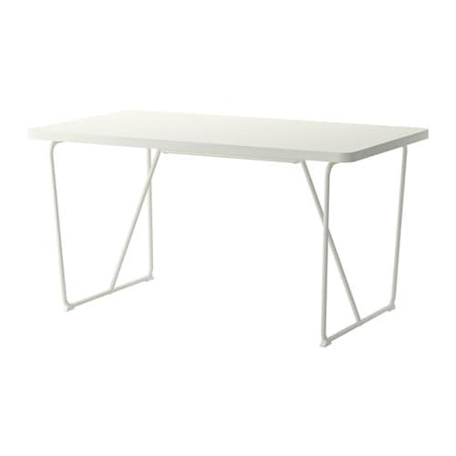 Rydeb ck table backaryd white ikea for Table pliante ikea