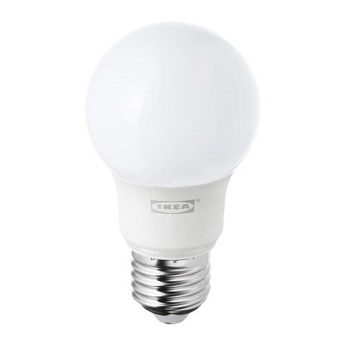 RYET - LED bulb E27 400 lumen, globe opal white
