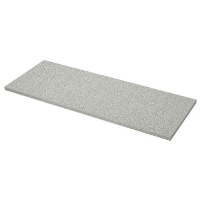 SÄLJAN Worktop, light grey mineral effect/laminate, 186x3.8 cm