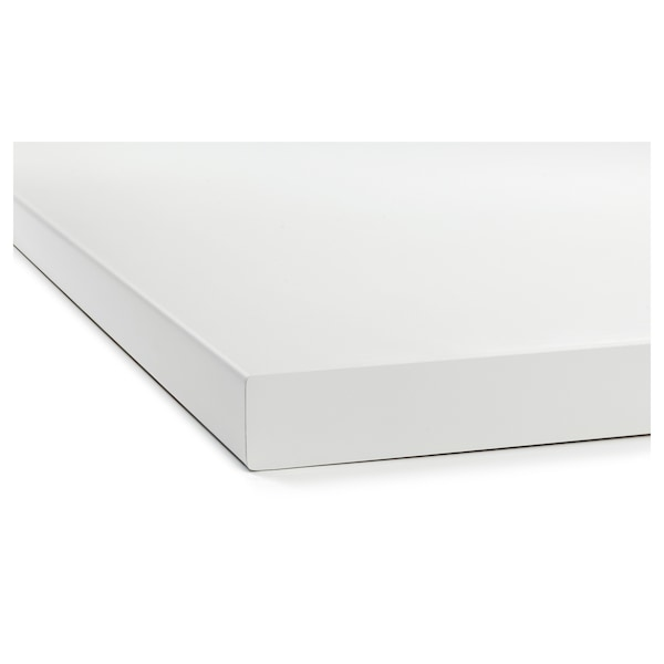 SÄLJAN Worktop, white/laminate, 246x3.8 cm