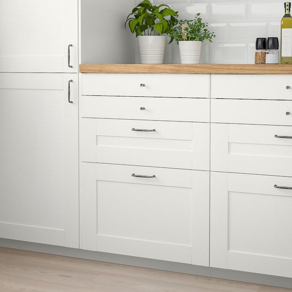 SÄVEDAL drawer front white 39.7 cm 10.0 cm 40.0 cm 9.7 cm 1.8 cm