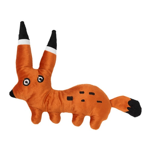 SAGOSKATT Soft toy, fox