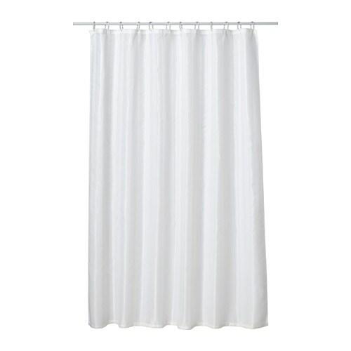 Saltgrund shower curtain ikea for Progettare bagno ikea