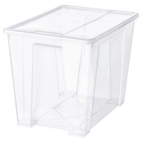 IKEA SAMLA Box with lid