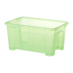 SAMLA box, light green