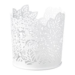 SAMVERKA tealight holder, white