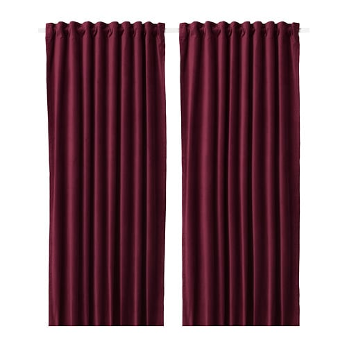SANELA Room darkening curtains, 1 pair