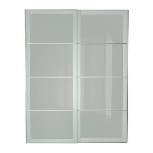 SEKKEN Pair of sliding doors 150x236 cm, IKEA
