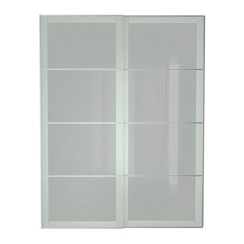 sekken pair of sliding doors 150x236 cm ikea. Black Bedroom Furniture Sets. Home Design Ideas