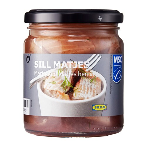 SILL MATJES Matjes herring fillets IKEA This seafood has met the MSC's global standard for sustainability.