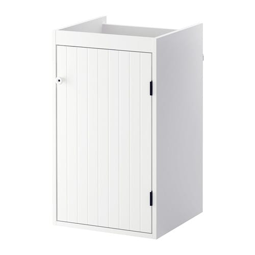 SILVERÅN Wash-basin cabinet with 1 door IKEA A good solution if you are short of space.