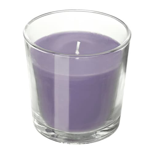 Sinnlig Scented Candle In Glass Ikea