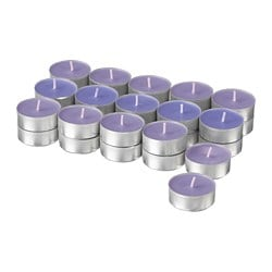 SINNLIG scented tealight, Blackberry, lilac