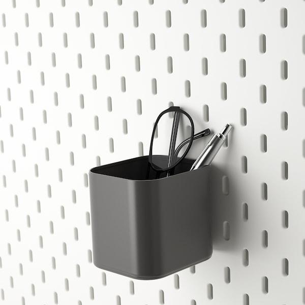 SKÅDIS Container, grey