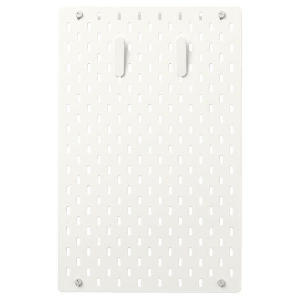 SKÅDIS pegboard combination white 36 cm 4 cm 56 cm
