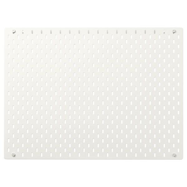 SKÅDIS pegboard white 76 cm 56 cm