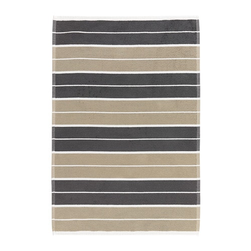 SKAGERN Bath mat IKEA Soft terry with high absorption capacity.  Made of combed cotton; the long, fine fibres create a softer and more durable towel.