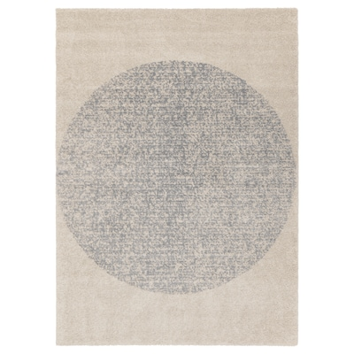 SKARRESÖ Rug, high pile, grey, 170x240 cm