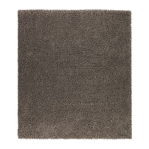 SKÅRUP Rug, high pile IKEA Long-fibre wool gives the rug a natural sheen.