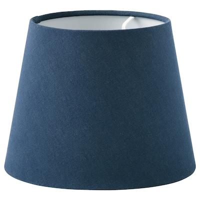SKOTTORP Lamp shade, dark blue, 19 cm