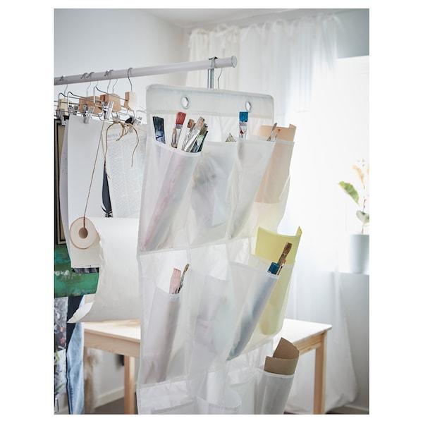 SKUBB Hanging shoe organiser w 16 pockets, white