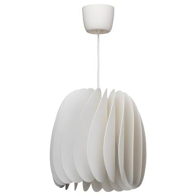 SKYMNINGEN pendant lamp white 22 W 40 cm 42 cm 1.5 m