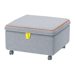 SLÄKT Seat module with storage $149