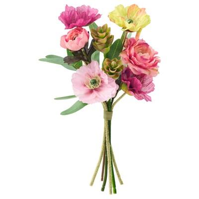 SMYCKA Artificial bouquet, Poppy, 38 cm