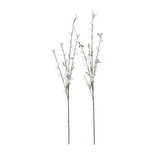 SMYCKA Artificial spray IKEA Lifelike artificial flower that remain just as fresh-looking and beautiful year after year.