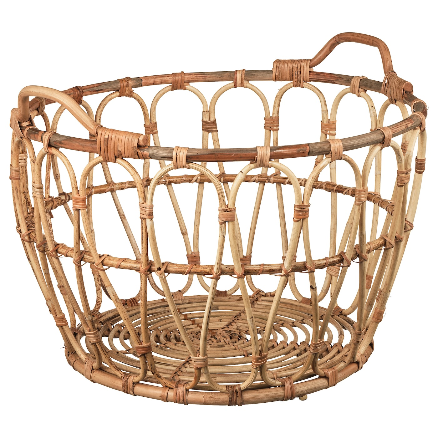 Snidad Basket Rattan Ikea