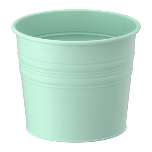 Socker plant pot, light green