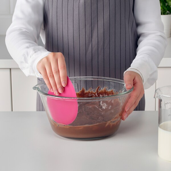 SOCKRIG bowl scraper silicone/pink 14.0 cm 10.0 cm