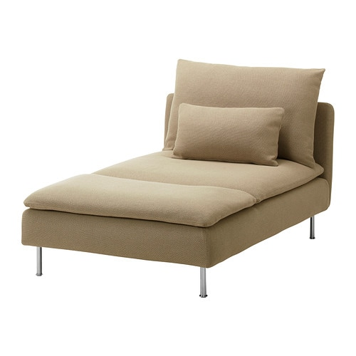S derhamn chaise longue repl sa beige ikea for Chaise longue