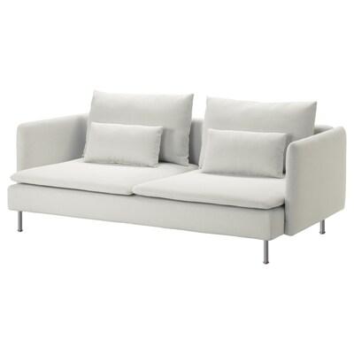 SÖDERHAMN 3-seat sofa, Finnsta white