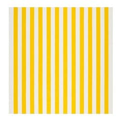 SOFIA fabric, broad-striped, white/yellow