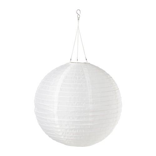 solvinden led solar powered pendant lamp ikea. Black Bedroom Furniture Sets. Home Design Ideas