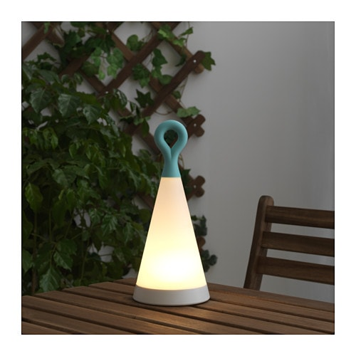 Outdoor Table Lamp Led: SOLVINDEN LED Solar-powered Table Lamp