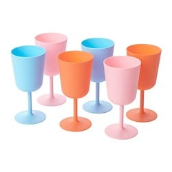 SOMMAR 2019 wine glass, mixed colours
