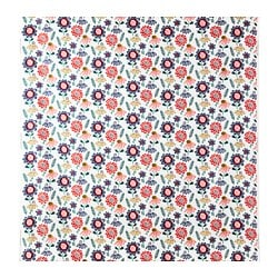 SOMMARASTER fabric, white, multicolour