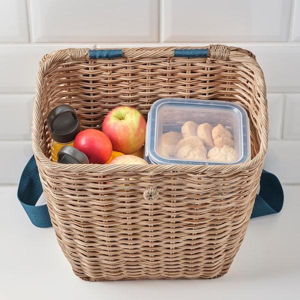 SOMMARDRÖM Backpack, rattan, 20 l