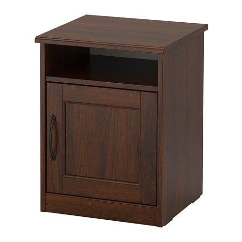 Songesand Bedside Table Brown Ikea