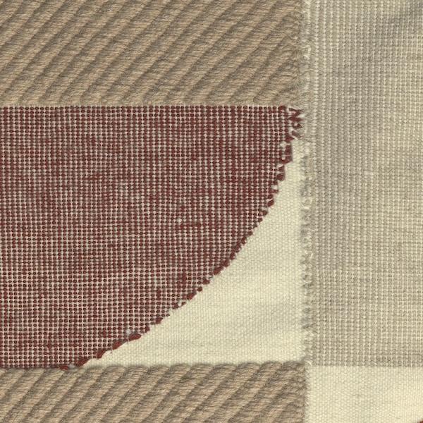 SPANGSBRO Rug, flatwoven, handmade multicolour, 170x240 cm
