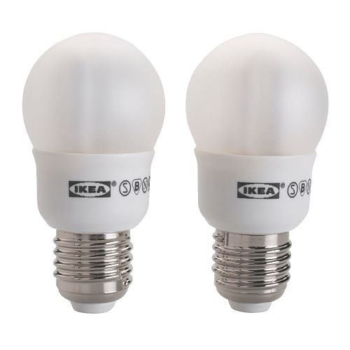 SPARSAM Low-energy bulb E27 IKEA Energy efficient; has up to 10 times longer life than an incandescent bulb.