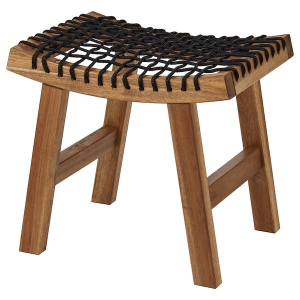 STACKHOLMEN stool, outdoor light brown stained 110 kg 48 cm 35 cm 43 cm