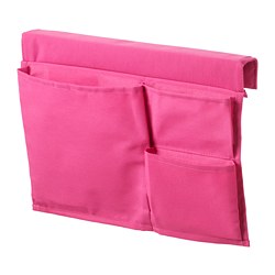 STICKAT bed pocket, pink