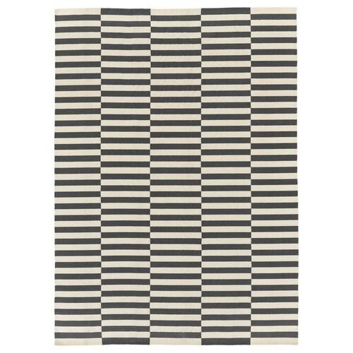 STOCKHOLM 2017 rug, flatwoven handmade/striped grey 350 cm 250 cm 8.75 m²