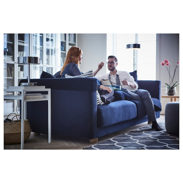 STOCKHOLM 2017 Three-seat sofa, Sandbacka dark blue